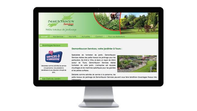 Site internet / Demonfaucon Services