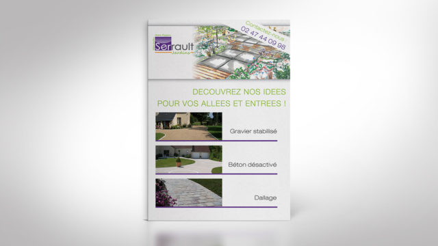 SERRAULT JARDINS / Communication Print & Web
