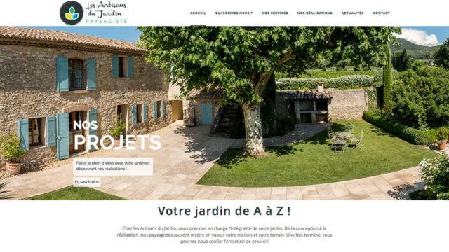 PLAN DE COMMUNICATION / Les Artisans du Jardin
